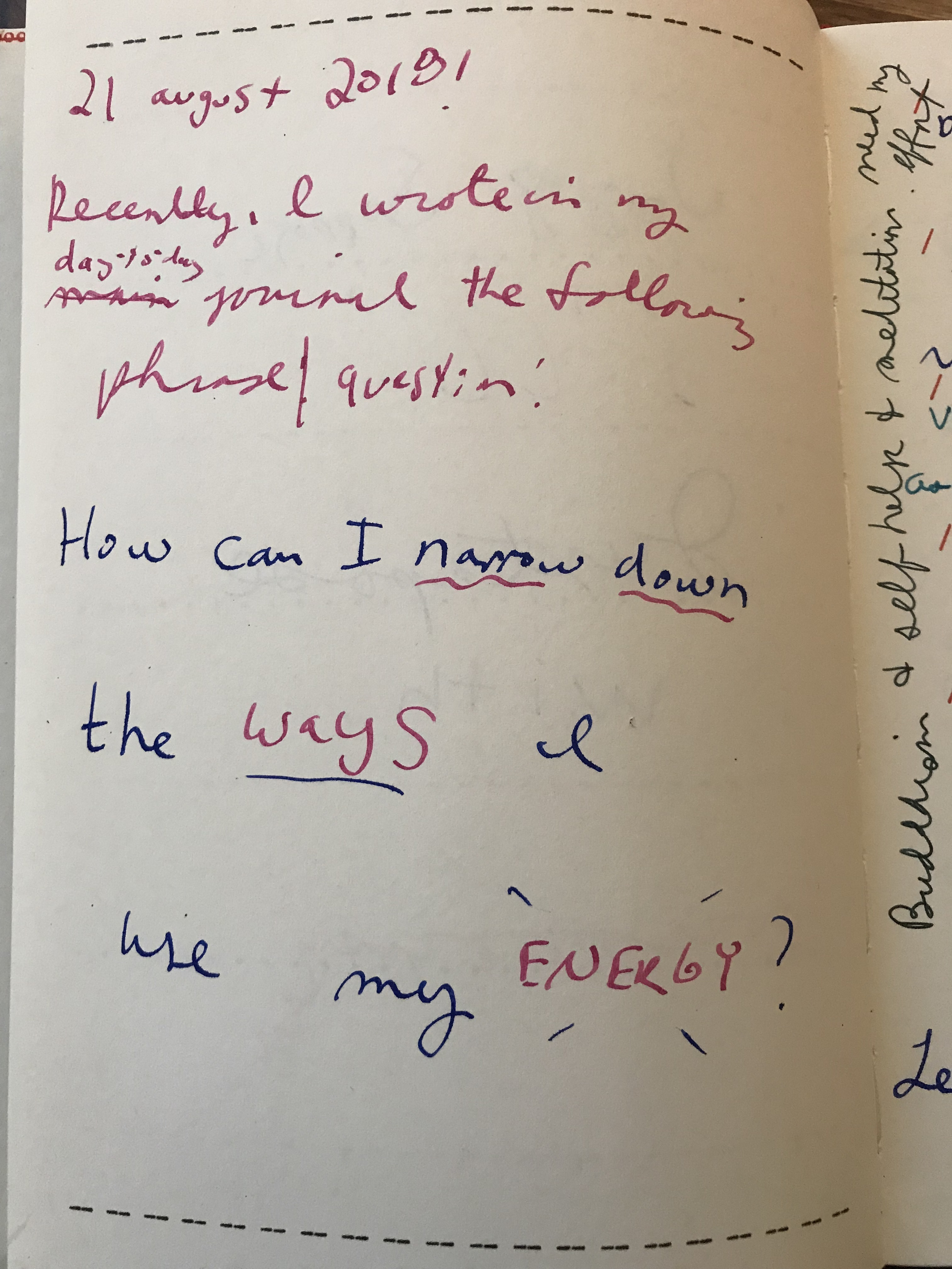 journal page image that includes handwritten scrawl of the blockquote that is directly below the image