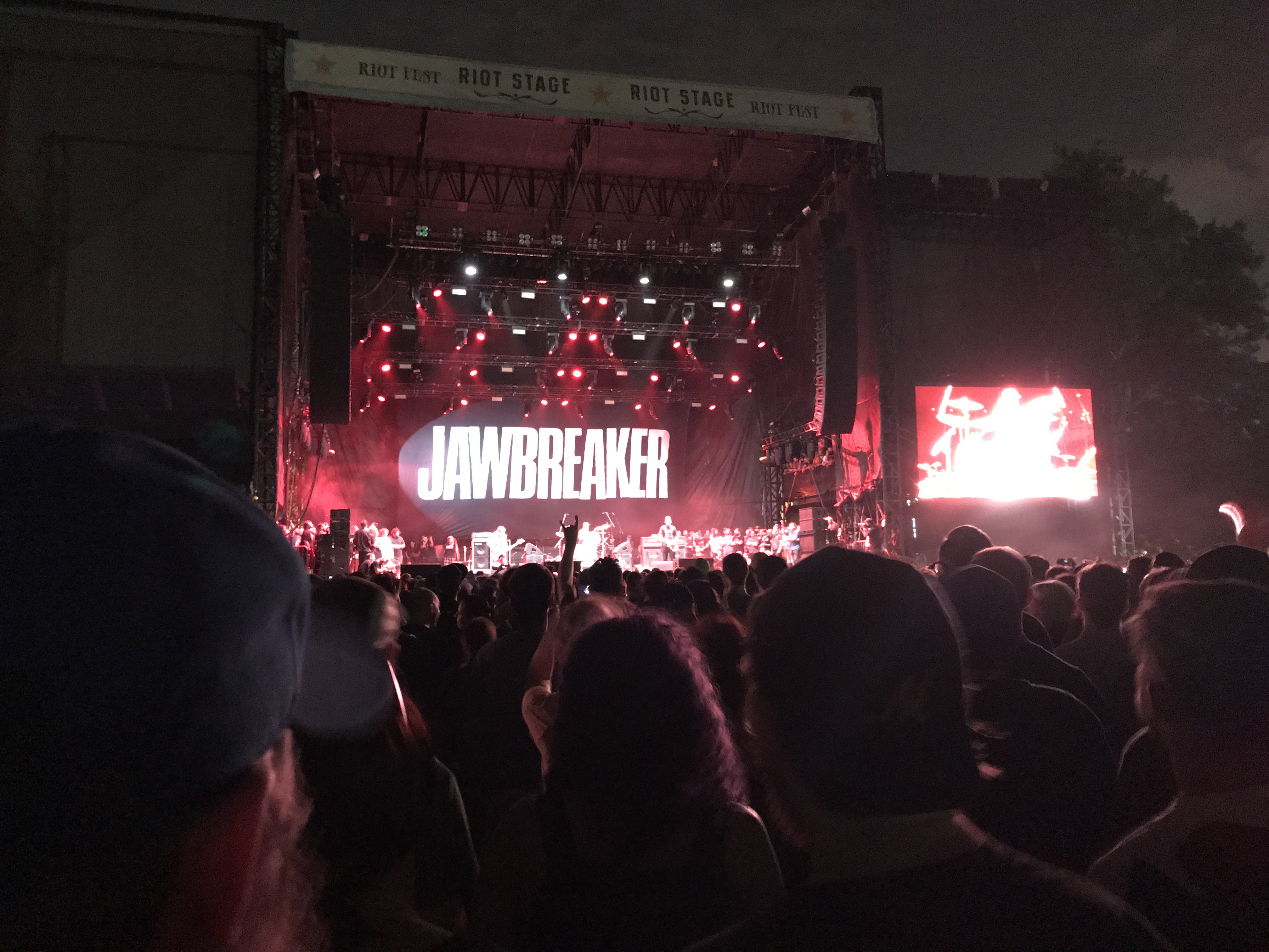 Jawbreaker playing at Riot Fest